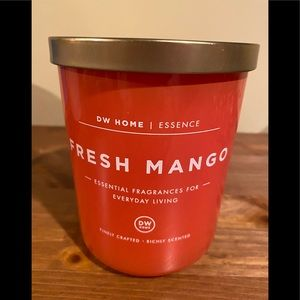 DW Home Essence Fresh Mango 2 Wick Jar Candle New